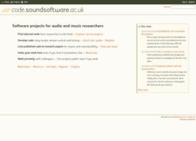 code.soundsoftware.ac.uk