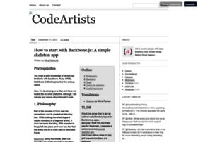 codeartists.com