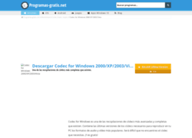 codec-for-windows.programas-gratis.net