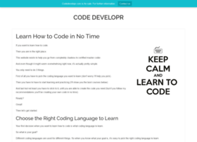 codedevelopr.com