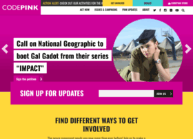 codepink.nationbuilder.com