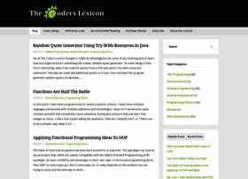 coderslexicon.com
