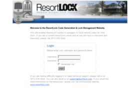 codes.resortlock.com