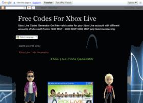 codesforxboxlive.blogspot.com