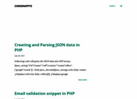 codesnippts.blogspot.com