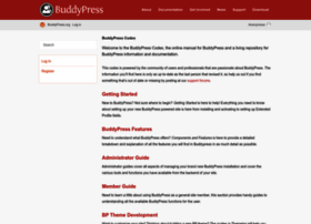 codex.buddypress.org