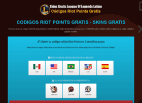 codigos-riotpointsgratis.tusgamings.com