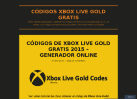 codigosxboxlivegold.wordpress.com