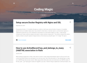 coding-is-kind-of-magic.blogspot.co.id