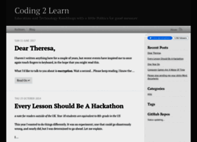 coding2learn.org