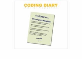 Codingdiary.com