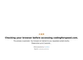 codingforspeed.com