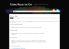 codingkilledthecat.wordpress.com