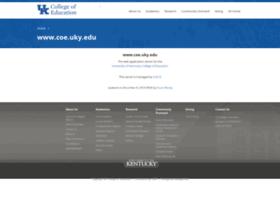 coe.uky.edu