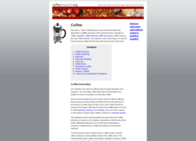 coffeeresearch.org