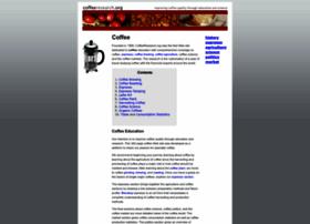 coffeeresearch.org
