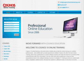 cognos10onlinetraining.com
