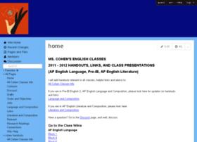 cohenhandouts.wikispaces.com