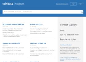 coinbase.desk.com