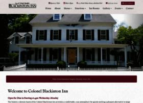 colblackintoninn.com