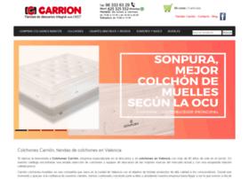 colchonescarrion.es