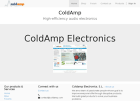 Coldamp Info High Efficiency Audio Electronics