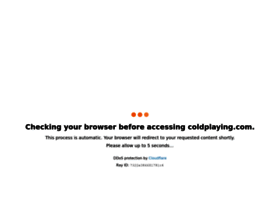 coldplaying.com