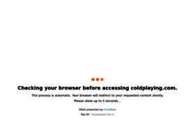 coldplaying.com