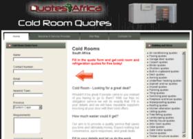 coldroomquotes.co.za