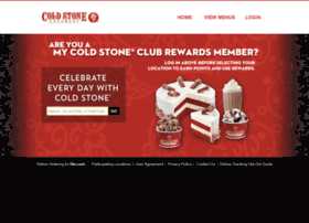 coldstonecakes.com