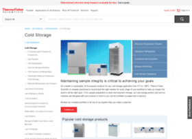 coldstorageselector.thermoscientific.com