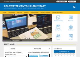 coldwatercanyones-lausd-ca.schoolloop.com