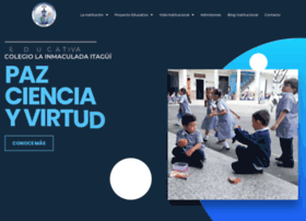 colegioinmaculadadeitagui.com