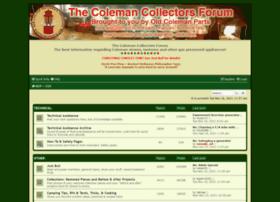 colemancollectorsforum.com