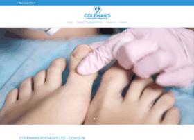 colemanspodiatrypractice.co.uk