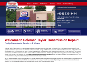colemantransmission.com