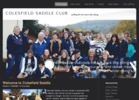 colesfieldsaddleclub.co.uk
