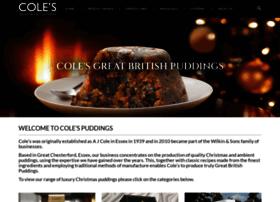 colespuddings.com