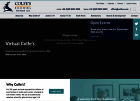 colfes.com