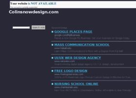 colinsnowdesign.com