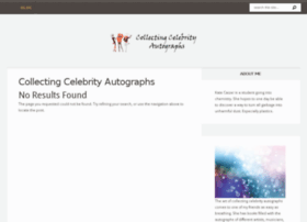 collecting-celebrity-autographs.com