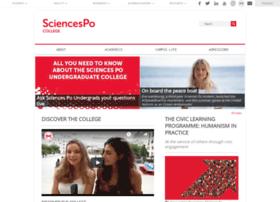 college.sciences-po.fr