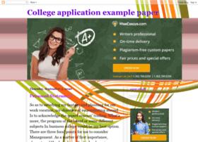 collegeapplicationexamplepaper.blogspot.in