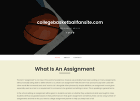 collegebasketballfansite.com