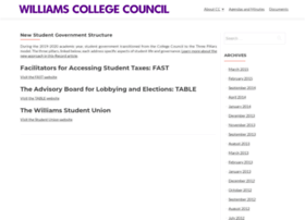 collegecouncil.williams.edu