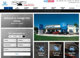 collegehillshondacars.com