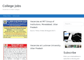 collegejobs.co.in