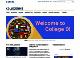 collegenine.ucsc.edu