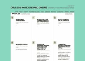 collegenoticeboardonline.com