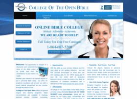 collegeoftheopenbible.com